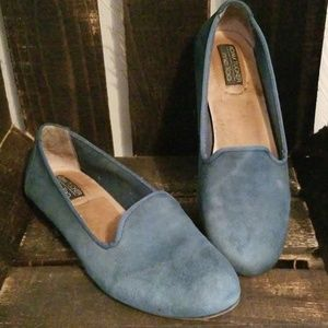 Adam Tucker Me Too Yale Teal Green Loafers